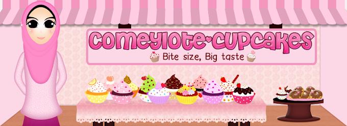 Tempahan Design Header: Comeylote Cupcakes