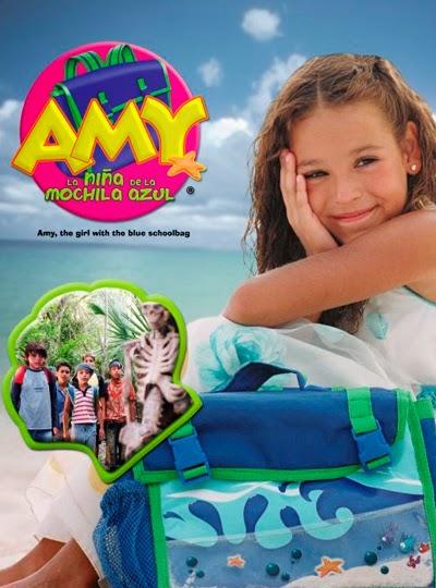 Amy la niña de la mochila azul