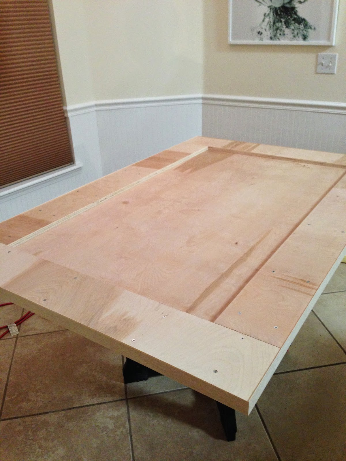 Of Course By Layering Two Pieces Of Wood Like That, It Was Obvious On The  Sides That It Wasnu0027t All One Thick Piece Of Wood. Plus Plywood Has A Really  Rough, ...