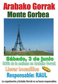 IR AL MONTE GORBEA  // 3 JUNIO