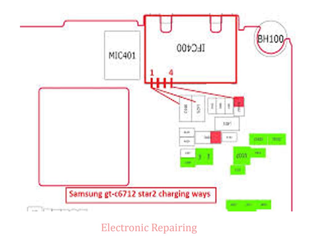 Samsung c6712 charging problem