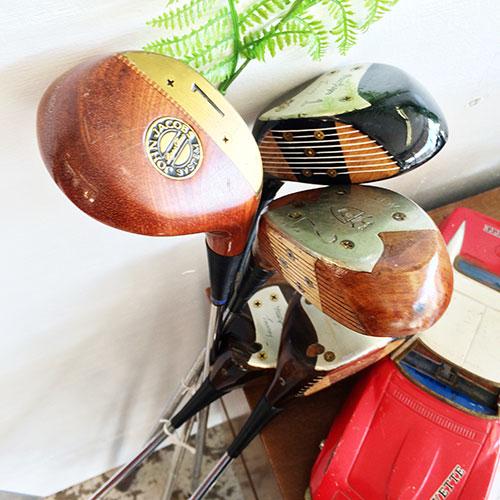 vintage golf clubs, Cleveland street flea market, flea market, Memphis thrift stores