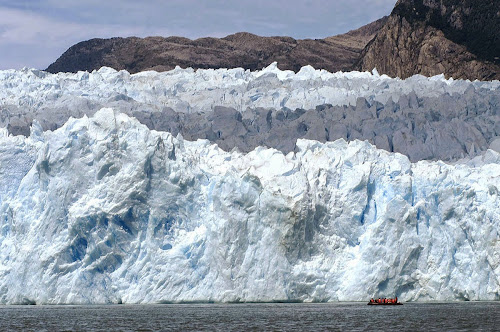 maior geleira da América do Sul