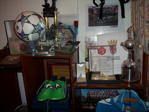 El cuarto de Federico Fernández en su casa natal