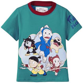 Ninja Hattori Boys T Shirt