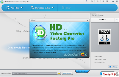 HD Video Converter Factory Pro 6.3 Full Version