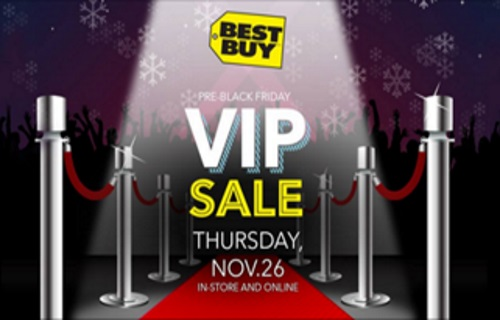 Best Buy Pre-Black Friday VIP Sale