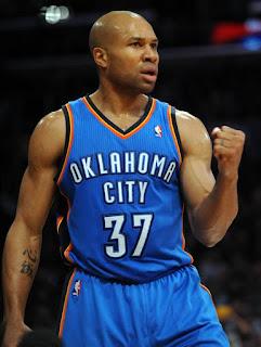 Derek Fisher, sucks, Oklahoma City Thunder, NBA, point guard