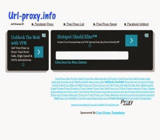 proxy gratuit url-proxy.info