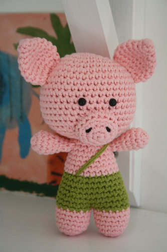 Little Pig by Mari-Liis Lille | Free Amigurumi Patterns | Bloglovin\'