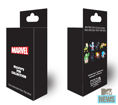 San Diego Comic-Con 2015 Exclusive Skottie Young Marvel Pin Series 2 Pack Blind Boxes