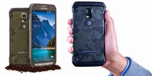 Galaxy S5 Active Smartphone Tangguh Samsung