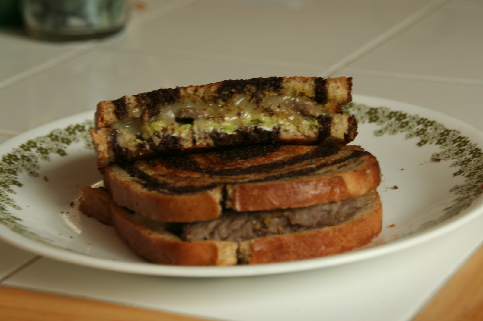 Imagine Create Produce: Steak and Avocado Grilled Cheese