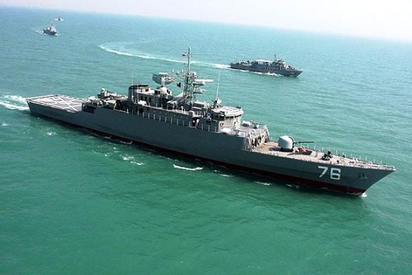 Jamaran Class, kapal destroyer buatan Iran. PROKIMAL ONLINE Kotabumi Lampung Utara