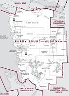 Parry Sound-Muskoka provincial electoral district.