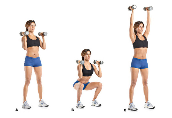 how to get big upper body with dumbbells