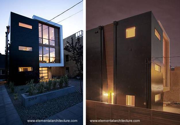 Arquitectura de casas residencia americana contempor nea for Casas modernas en washington
