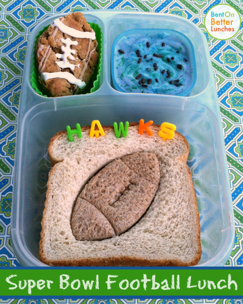 Super Bowl Football Lunch