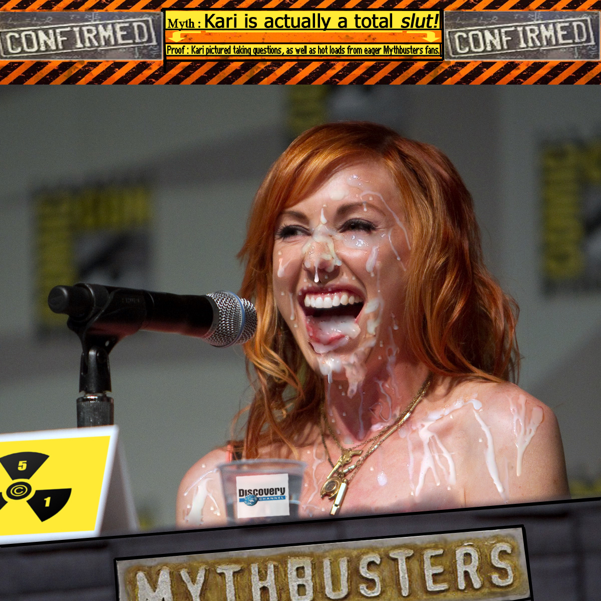 Karey byron on mythbusters nudee, hottest girl blow job