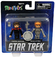 Diamond Select Star Trek Legacy Minimates - Captain Janeway & Seven of Nine Figures