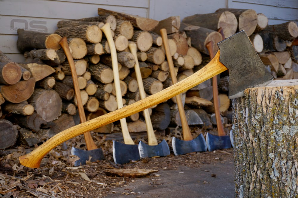 perfect axe handle hickory