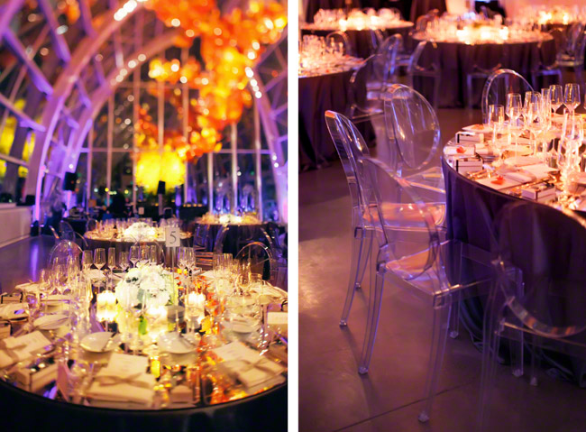 chihuly garden and glass wedding seattle wedding reception