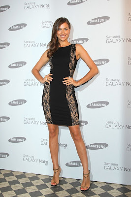 irina shayk, samsung galaxy, samsung galaxy note, samsung galaxy note 10.1, irina shayk samsung galaxy, samsung galaxy launch party, irina shayk party