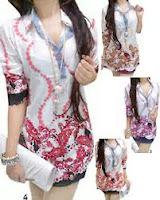 Model Baju Batik Remaja Trendy