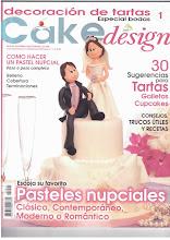 1º Revista Cake Design Especial  Noivas  Portugal/ Espanha