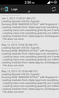 Xposed-installer-logs