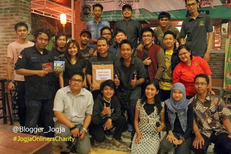 """""""Jogja Onliners Charity"""" Acara amal untuk korban Sinabung dan Kelud"""