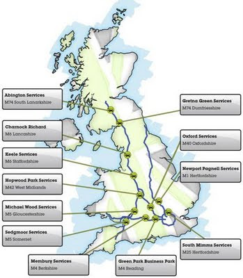 Electric Highway network