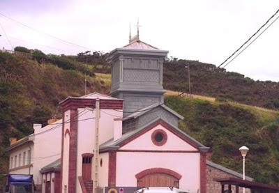 Castrillón, Arnao, castillete de la antigua mina
