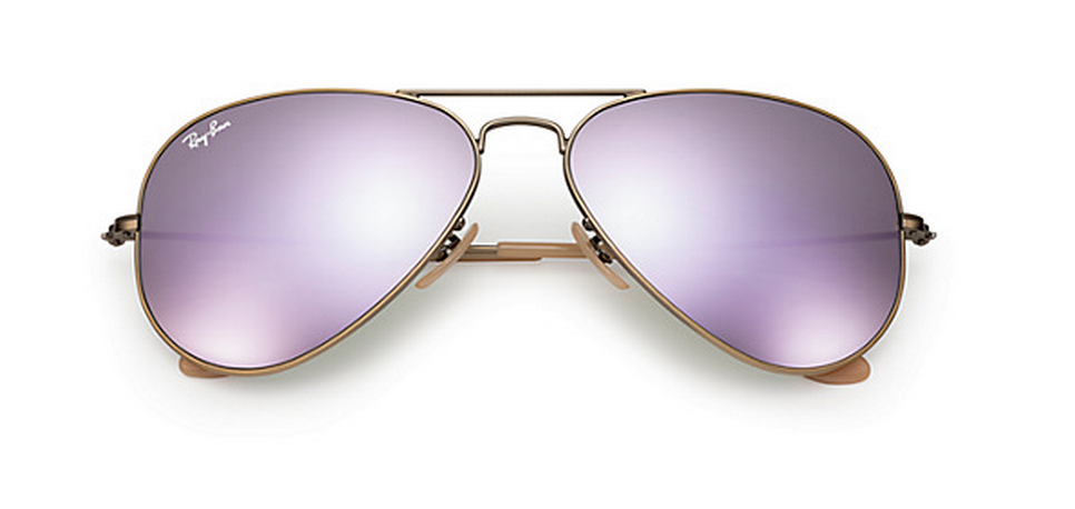 ray ban sunglasses lenses gwhe  Ray-Ban Aviator Lilac Mirror Lenses