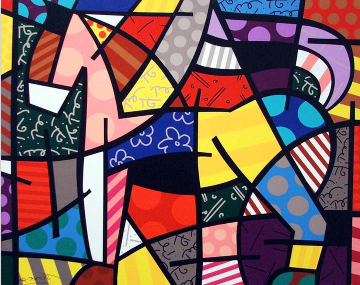 Pintura moderna y fotograf a art stica cuadros modernos for Imagenes de cuadros abstractos geometricos