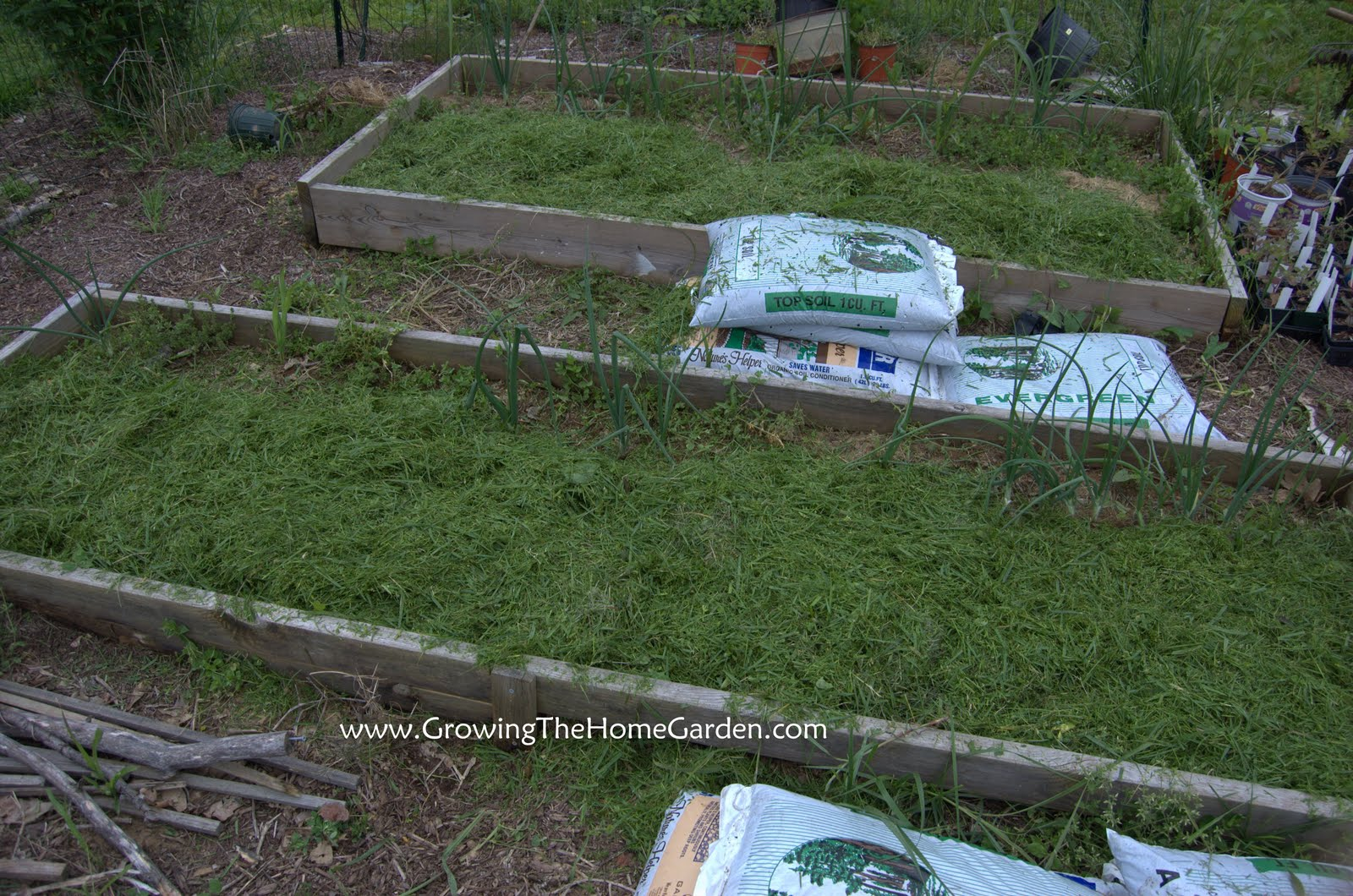 Filling Raised Beds With Topsoil