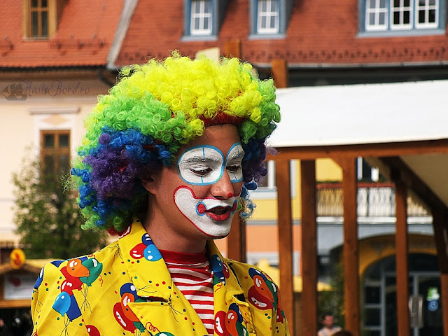 clown targ paste sibiu 2013