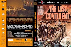 Carátula: El continente perdido 1968
