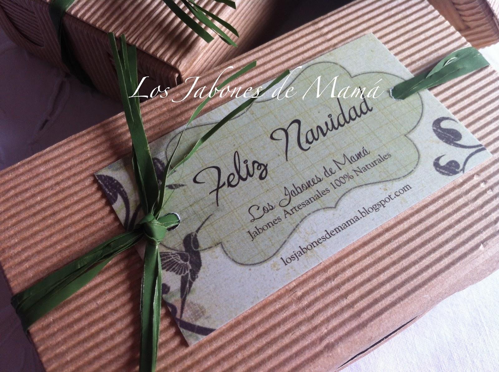 Los jabones de mam regalos de navidad caja cart n ondulado - Cajas de carton de navidad ...