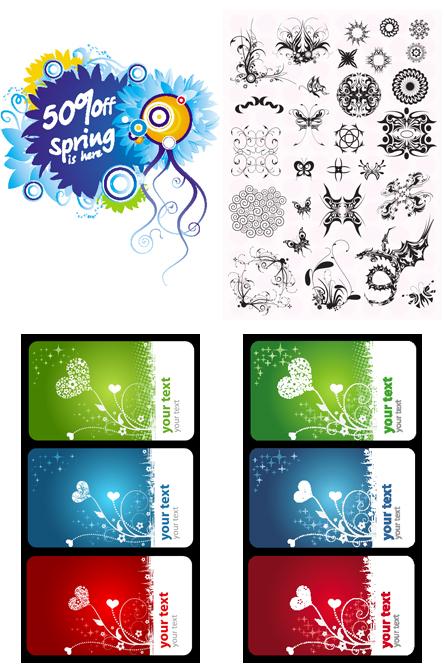 Recursos graficos para diseño.: Grecas florales DVD 2