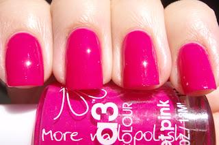 baby pink nail