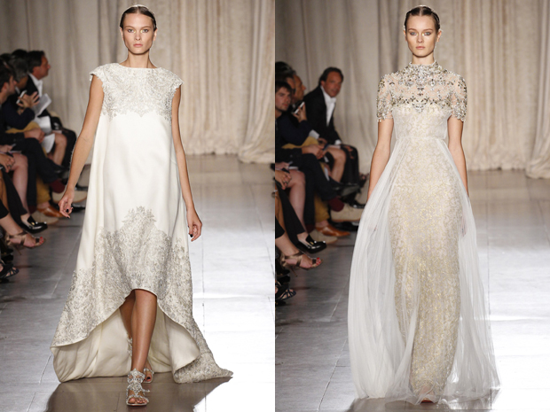 Dawn J 39 S Fashion Wedding Gown New York Fashion Week