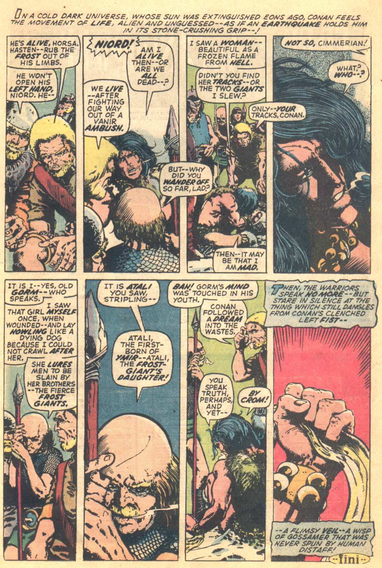 Conan the Barbarian (1970) Issue #16 #28 - English 12