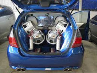 Variasi audio Honda Jazz