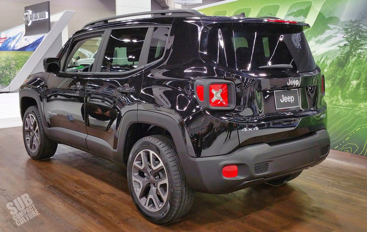 Jeep Renegade rear 3/4