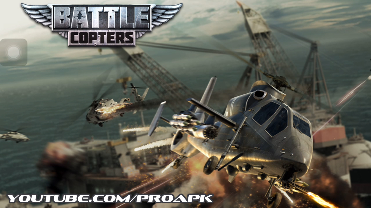 Battle Copters Gameplay IOS / Android