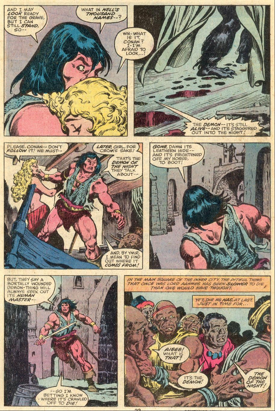Conan the Barbarian (1970) Issue #107 #119 - English 15