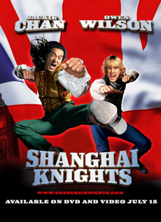 Shanghai Knights 2003 poster