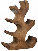 oak wine rack plans