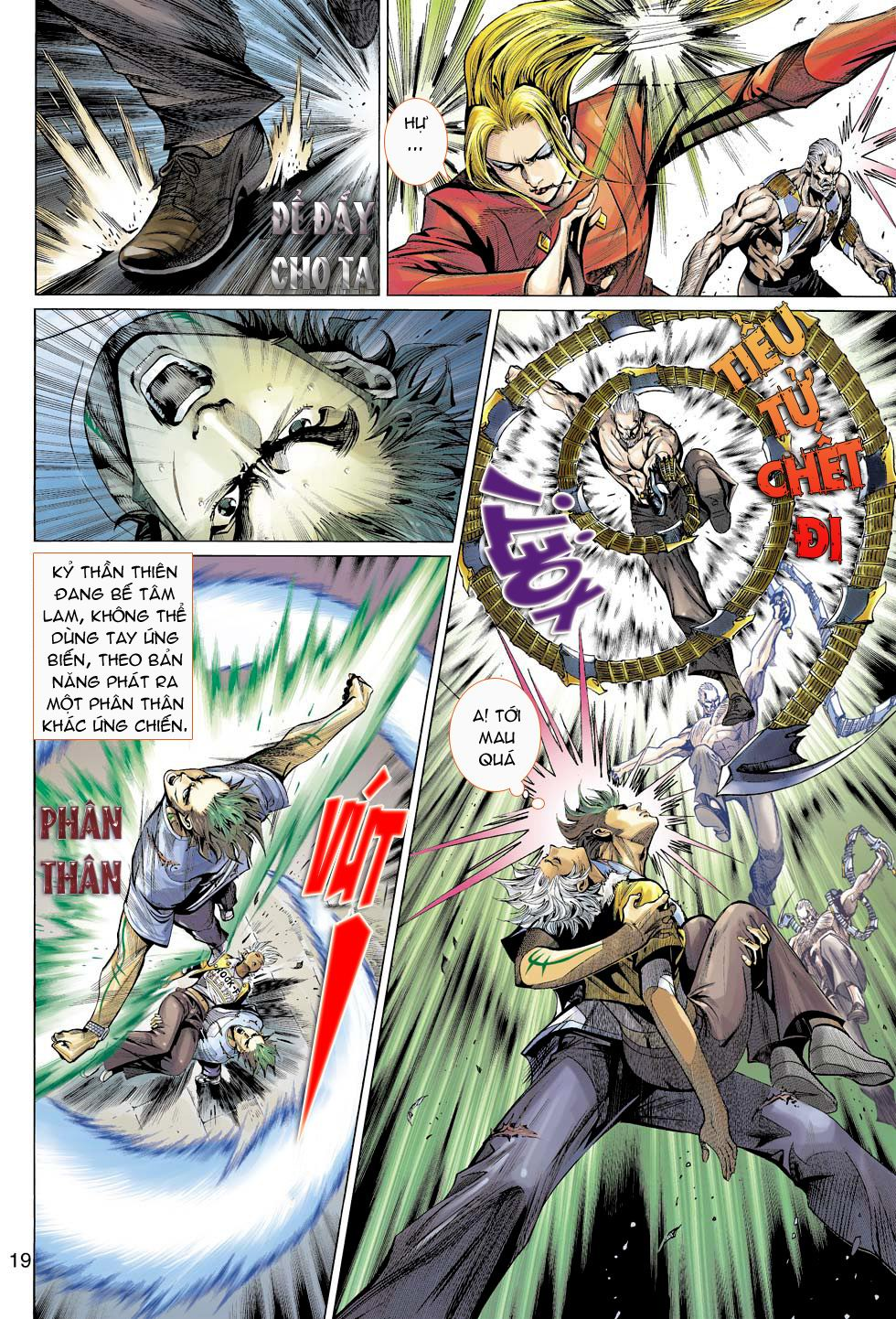 Thần Binh 4 chap 16 - Trang 19